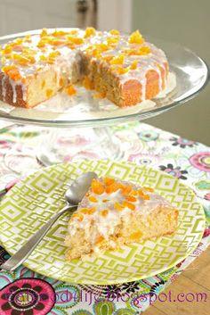 Almond & Apricot Cake.