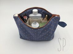 Beauty Case, Bagan, Coin Purse, Embroidery, Wallet, Sewing, Hobby, Diy, Grande