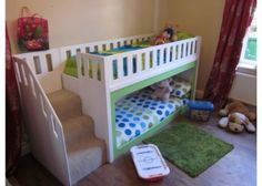 Love this low bunk bed from Kids Dream Beds uk