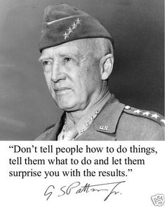 General George s Patton Autograph World War 2 II Quote 8 x 10 Photo Picture V2   eBay