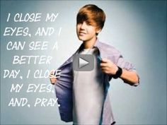 pray Justin Bieber Lyrics - Pray by justin bieber.
