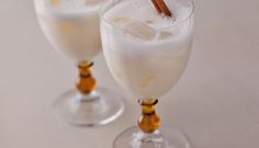 Horchata with Lime and Canela - Rice Recipes Milk Recipes, Cooking Recipes, Mexican Drinks, Horchata, Food Blogs, Teas, Nom Nom, Cinnamon, Sweet Treats
