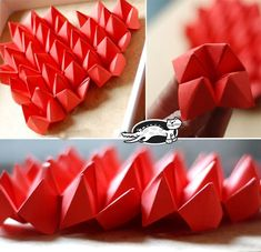 Popular DIY Crafts Blog: How to Make a Paper Fortune Teller Heart For Valentine Day