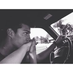 Holding hands in the car when he brings your hand in for a kiss. Romantic and beautiful.