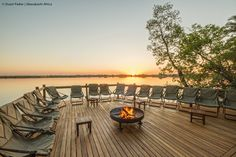 Xugana Island Lodge Viewing Deck