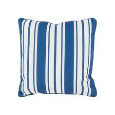 Decor 140 Geraldton Indoor / Outdoor Throw Pillow, Blue (Navy)