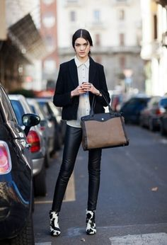 Pair your leggings with the perfect statement boot