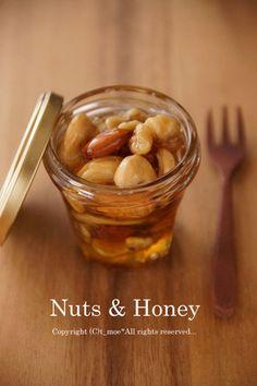 ナッツの蜂蜜漬け by RicheClub [クックパッド] 簡単おいしいみんなのレシピが234万品