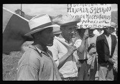 [Untitled photo, possibly related to: Yabucoa, Puerto Rico. Strikers near the sugar mill]
