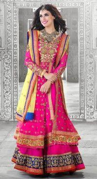 Fascinating Pink Lehenga Choli