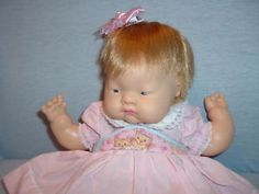 1960s baby doll--I had one of these dolls-they were made by Vogue. I still have mine!