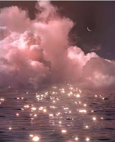 Find images and videos about pink, sky and water on We Heart It - the app to get lost in what you love. Aesthetic Pastel Wallpaper, Aesthetic Backgrounds, Aesthetic Wallpapers, Aesthetic Pastel Pink, Sky Aesthetic, Aesthetic Images, Aesthetic Makeup, Photo Wall Collage, Picture Wall