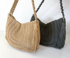WEBSTA @ senhandmade - New #hobobags  ready to sail away ⛴ ... #summerbag #crochetbags #oneofakind #greekislands #skiathos #hedgehogskiathos #greekboutique #custommade #fashiontrends #womensfashion #instafashion #fashiondiaries2017 #handmade #senhandmade #greekbrand #greekdesigner #worldwideshipping