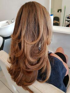 #blowout #hairstyle #hair #haircolour love a good bouchy blow wave xo