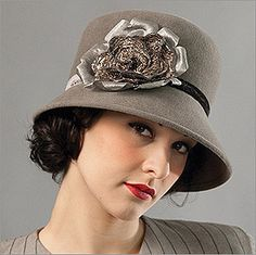Vintage hats add sophistication and fun.