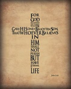 Christian Scripture Art. $10.00, via Etsy.