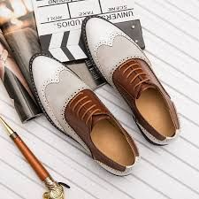 British Full Brogue Dress Shoes Men Closed Lacing Formal Shoes Men Leather Wing Tip Wedding Shoes Me Too Shoes, Men's Shoes, Dress Shoes, Shoes Men, Men's Wedding Shoes, Formal Shoes For Men, Brogues, Tan Leather, Oxford Shoes