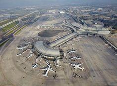 Toronto Pearson Airport.