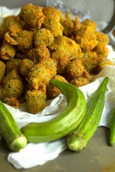 Southern Fried Okra _ is just as iconic when it comes to Southern and Soul Food cooking!