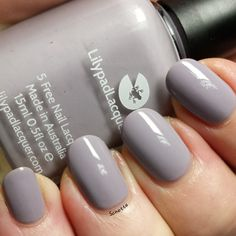 Lilypad Lacquer : The Nude and Neutral Collection Part 1 Cement