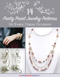 Beautiful beading patterns 26 diy jewelry projects in white ready to take your style of elegance to the next level bring your formal jewelry patterns to life by using pearl beads to really dress yourself up solutioingenieria Images