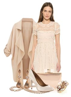 """""""Untitled #2280"""" by jeanne-lemaire-romero on Polyvore featuring RED Valentino, Chinese Laundry, Givenchy, Mimí, women's clothing, women's fashion, women, female, woman and misses"""