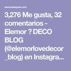 """3,276 Me gusta, 32 comentarios - Elemor 🌟 DECO BLOG (@elemorlovedecor_blog) en Instagram: """"✨Placeres de domingo 😉✨ . . Levantarse sin despertador, desayunar tranquilamente, irse a pasear por…"""" Deco, Blog, Instagram, Domingo, I Like You, Cooking, Deko, Dekoration, Blogging"""