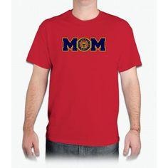 Navy Mom - Mens T-Shirt