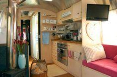 Refurbished Airstream Caravan