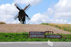 Windmühle des Landwirtschaftsmuseums in Melstedgaard, Bornholm #muehle #windmuehle #melsted #melstedgaard #museum #bornholm