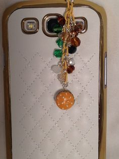 Cute Little Hamburger cell phone charm dust by PmBSparklesLinks, $8.00