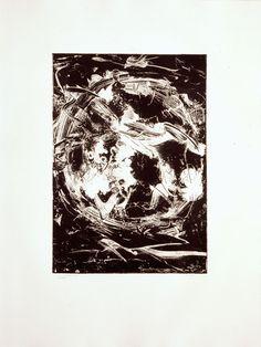 Emilio Vedova Oltre, 1987 Aguafuerte y aguatinta Formato papel: 79.5 x 59.5 cm Edición de 90 ejemplares numerados y firmados
