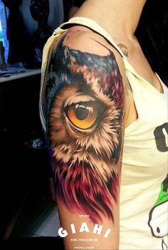 #tattoofriday - Sandra Dauksta, Letônia #tattoo #tatuagem #realismo #realism
