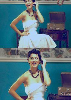 Katy Perry makes any look, look good.