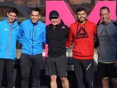 Miguel Ángel Mancera corre por el Bosque de Chapultepec junto a Misael Rodríguez y otros atletas mexicanos | El Puntero