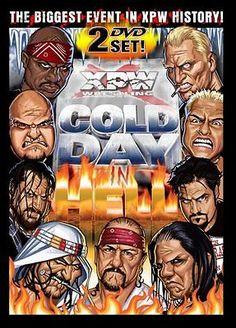 XPW Cold Day In Hell DVD SET New Jack FUNK Sandman wwe tna Wrestling DEATHMATCH