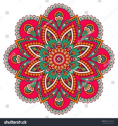 Find Flower Mandala Vintage Decorative Elements Oriental stock images in HD and millions of other royalty-free stock photos, illustrations and vectors in the Shutterstock collection. Mandala Doodle, Mandala Art, Mandala Design, Croquis Mandala, Mandala Drawing, Mandala Pattern, Indian Mandala, Mandala Coloring Pages, Coloring Book Pages
