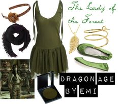 """Dragon Age - The Lady of the Forest"" by emi-watson on Polyvore"