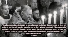 St Pio on mental prayer