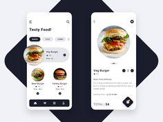 Mobile Web Design, App Ui Design, User Interface Design, Design Design, Design Package, Motion App, Food Icons, Ui Design Inspiration, Design Graphique
