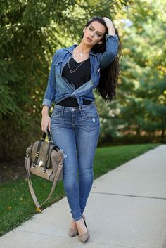 Denim & Taupe   the Beauty Bybel