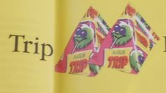 Nostalgic - We were trippin' as kids, in Finland =P Trip juice was in 'pyramid' containers, which came with a little straw, and there was a marked spot on the container, where you could easily push the straw in.