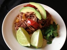 Paleo Mexican Pulled Pork With Pepper And Onions #PaleoCupboard