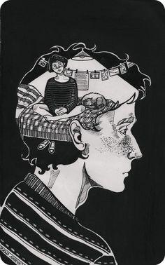 Art Sketches, Art Drawings, Arte Grunge, Couple Art, Art Sketchbook, Aesthetic Art, Love Art, Cartoon Art, Collage Art