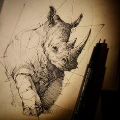 rhino , psdelux ... on ArtStation at https://www.artstation.com/artwork/qYgln