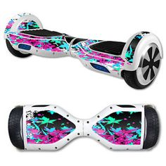 Skin Decal Wrap for Self Balancing Scooter Hoverboard Unicycle Leaf Splatter | eBay