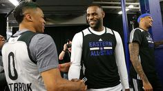 LeBron James elogia a Russell Westbrook