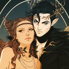 Jude and prince Cardan Fanart, Character Inspiration, Character Art, Holly Black Books, Arte Sketchbook, Hades And Persephone, Sarah J Maas, Vampire, Couple Art