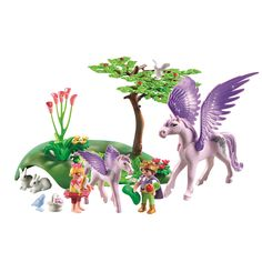"""Playmobil Royal Children with Pegasus and Baby - Playmobil - Toys """"R"""" Us"""