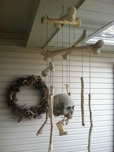 Skeleton Wind Chimes
